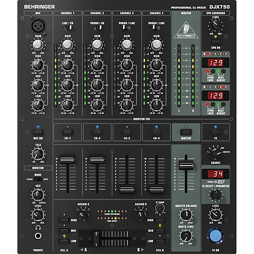 میکسر صدا : دی جی بهرینگر مدل DJX750